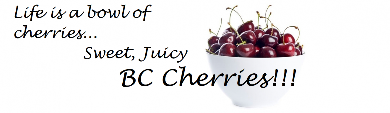 Bowl of BC Cherries